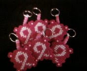 Breast Cancer keychains