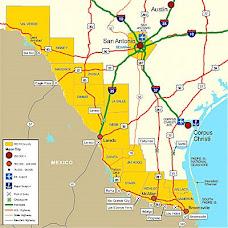Map O Texas