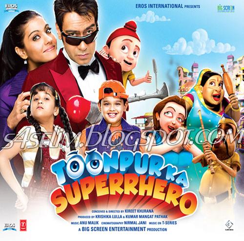 Roop Bhullar 31 March New Song: Movies And Songs: Toonpur Ka Superrhero (2010) MP3 Songs