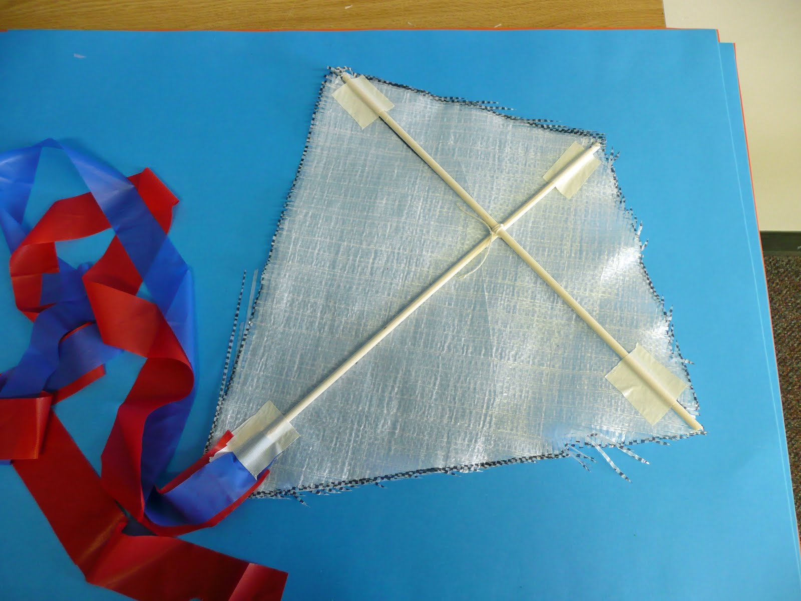 Kite shape in real life