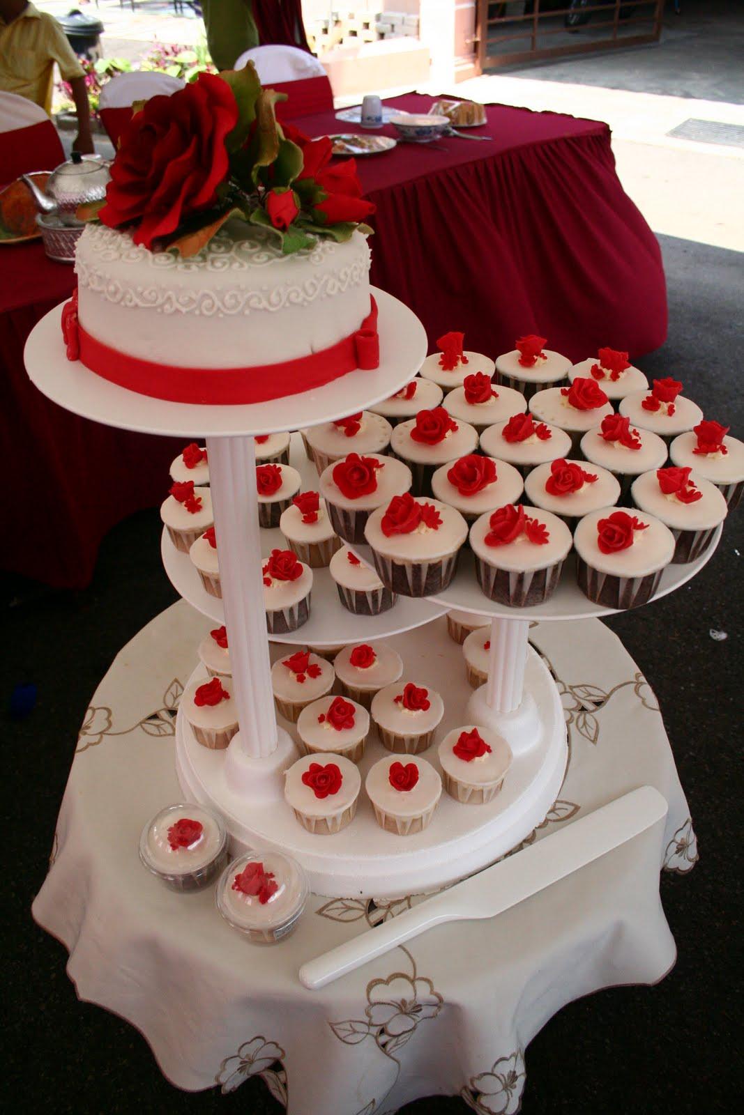 SweetCuppies White red wedding theme