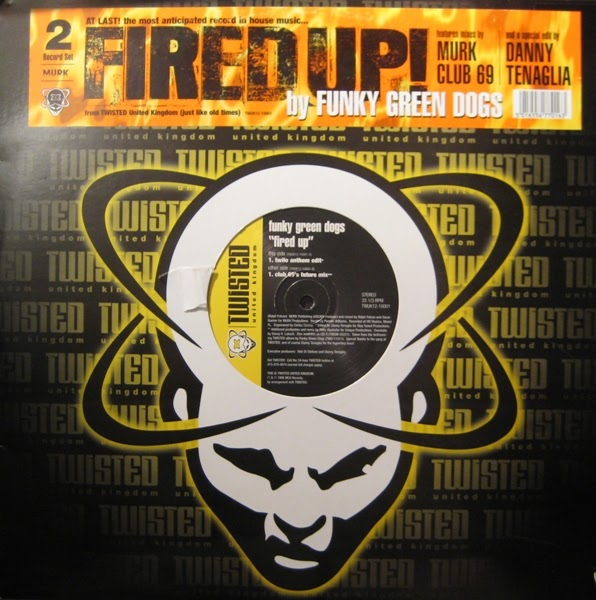 Classic house music funky green dogs fired up twisted 1996 for Funky house classics 2000