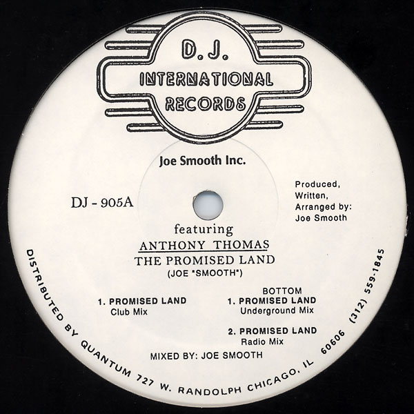 Classic house music joe smooth inc featuring anthony for Classic uk house music