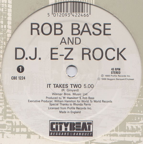 Classic house music rob base dj e z rock it takes two for House music 1988