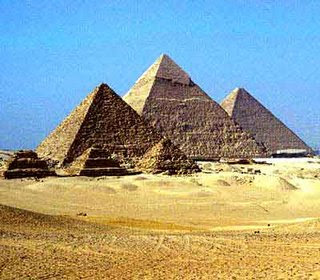 Pyramids of Egypt one of the top ten travel wonders of Africa