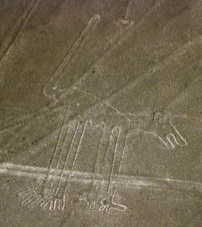 Nazca Animal Figures (Nazca Lines), Peru, South America