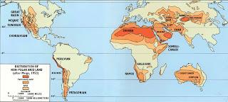 map of sahara desert