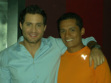 "Con Edgar Ramírez, en la premiere ""The Bourne Ultimatum"""