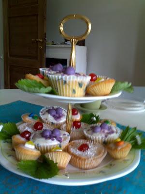 Cupcakes on parade