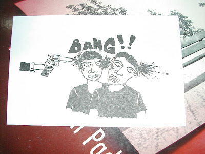 GUN,HEADS,SHOOT,WEBCOMIC,CARTOON