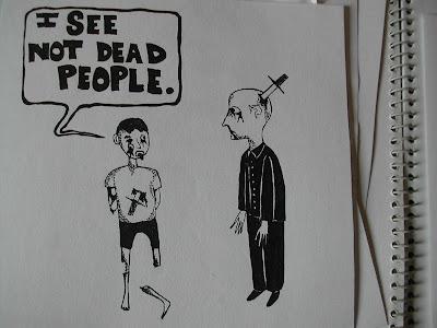the sixth sense,cartoon,webcomic
