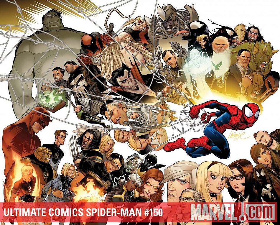 Ultimate spider man comic - photo#18
