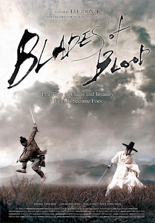 Filme Poster Blades Of Blood DVDRip RMVB Legendado