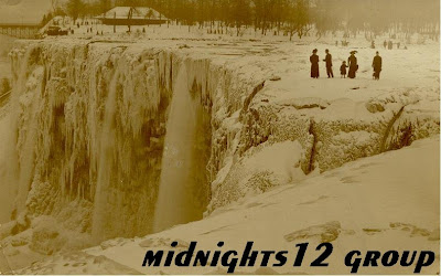 Niagara Falls Completely froze