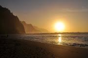 Ke'e Beach Sunsets