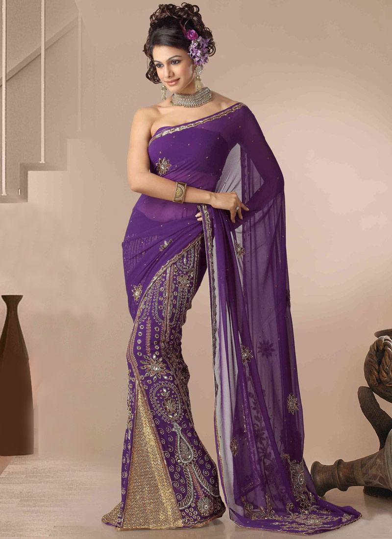 Latest Lehenga Saree Fashion
