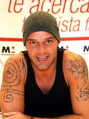 Being Italian and into Aramaic studies, I found the following article about. Enjoy these pictures of Ricky Mkohartain and his interesting tattoos.