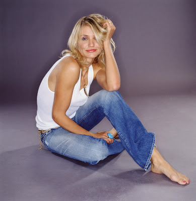 cameron diaz feet