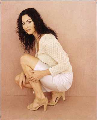 Are minnie driver feet think, that
