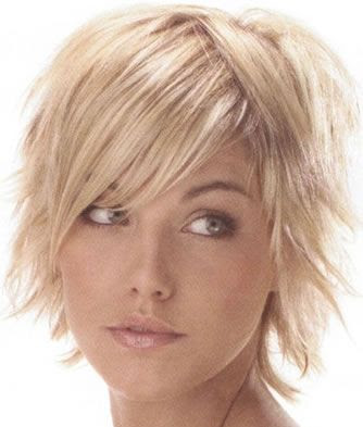 short spiked hairstyle women over thirty A short spiked hairstyle for women