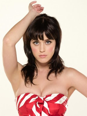Katy Perry bangs hairstyles. at 11:43 AM