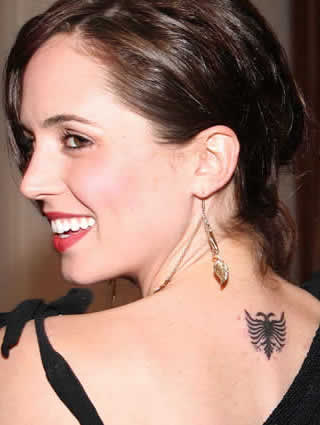 Eliza Dushku Tattoojpg