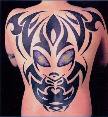 job tattoo tribal alien tattoo. Black Bedroom Furniture Sets. Home Design Ideas