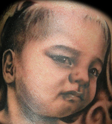 Cute Baby Tattoo