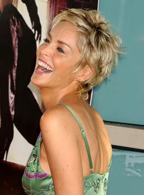 sharon stone s haircuts