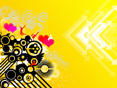 abstract wallpaper. Yellow Abstract Wallpapers