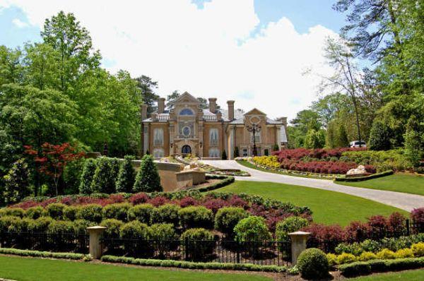 kenny rogers mansion in atlanta georgia celebrity houses. Black Bedroom Furniture Sets. Home Design Ideas
