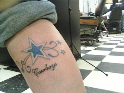 1000 images about dallas cowboys tattoos on pinterest for Dallas cowboys star tattoo