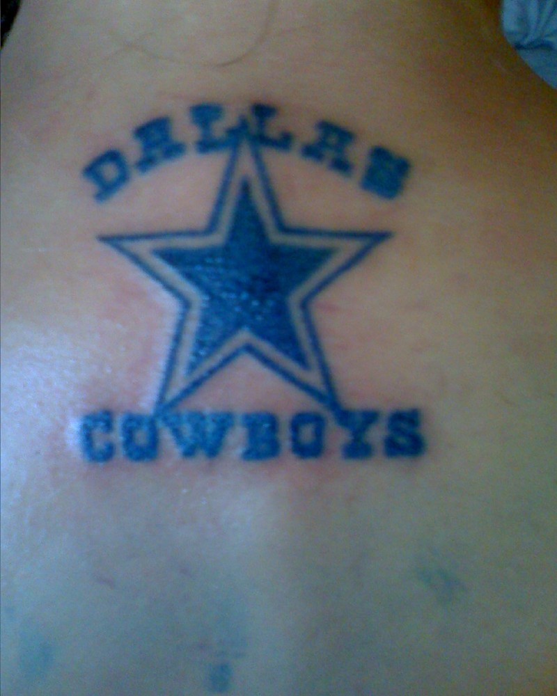 dallas cowboys tattoos full body tattoos. Black Bedroom Furniture Sets. Home Design Ideas