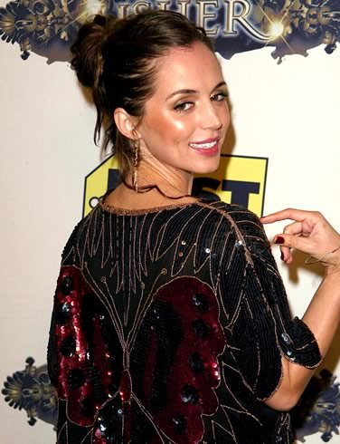 short hair updos for casual events. Eliza Dushku Updo Hairstyle