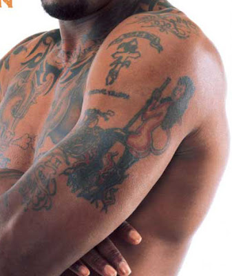 Dennis Rodman Tattoos