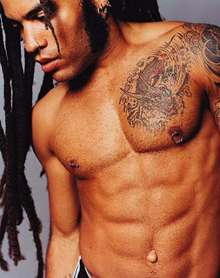 Lenny Kravitz Chess Tattoos