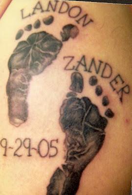 Prince tattoo baby feet tattoos for Baby feet tattoo