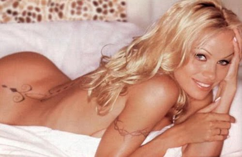 Labels: Pamela Anderson Tribal Lower Back Tattoo