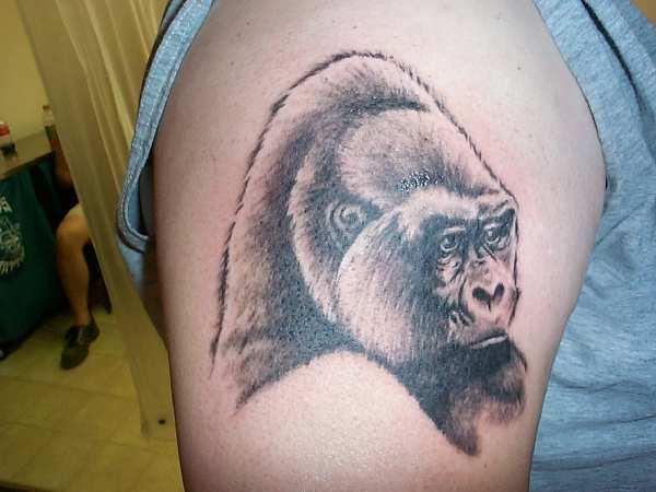 tattoo tattoo gorilla tattoos. Black Bedroom Furniture Sets. Home Design Ideas