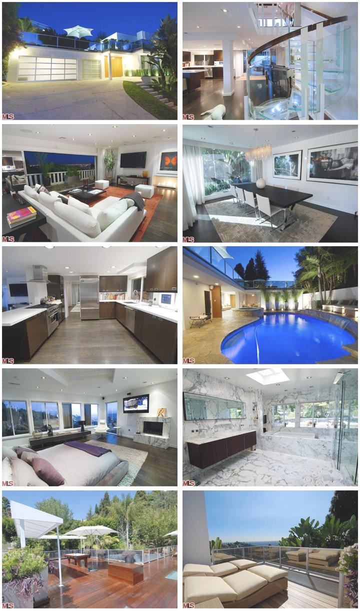 Mel b house celebrity houses B house