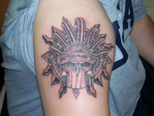 Picture AZTEC TATTOO Art >> Aztec Tattoo Warrior art and Picture