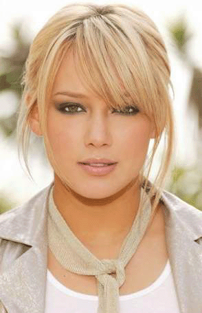 Hair Colors  Cuts on Hilary Duff Blonde Hair   Haircuts And Hairstyles