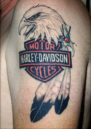 Oustanding Harley Davidson Tattoos