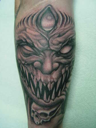 Do Demon Tattoos Tattoo To La Tattoo Design 350x412 Pixel