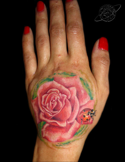 Hand Tattoos On Girls Side Of Hand Tattoos For Girls Small Hand
