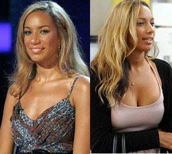 leona lewis fakes