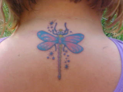 Cool Dragonfly Tattoo Design. Download Full-Size Image | Main Gallery Page