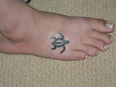 Turtle Tattoos on Tatouagemerk Meisje  Turtle Tattoos