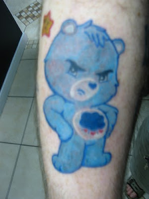 Enjoy this cute little picture collection of Care Bear tattoo ideas.