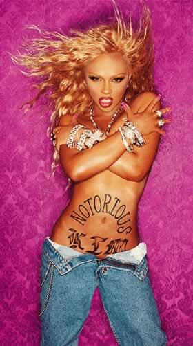 Lil'Kim Tattoos